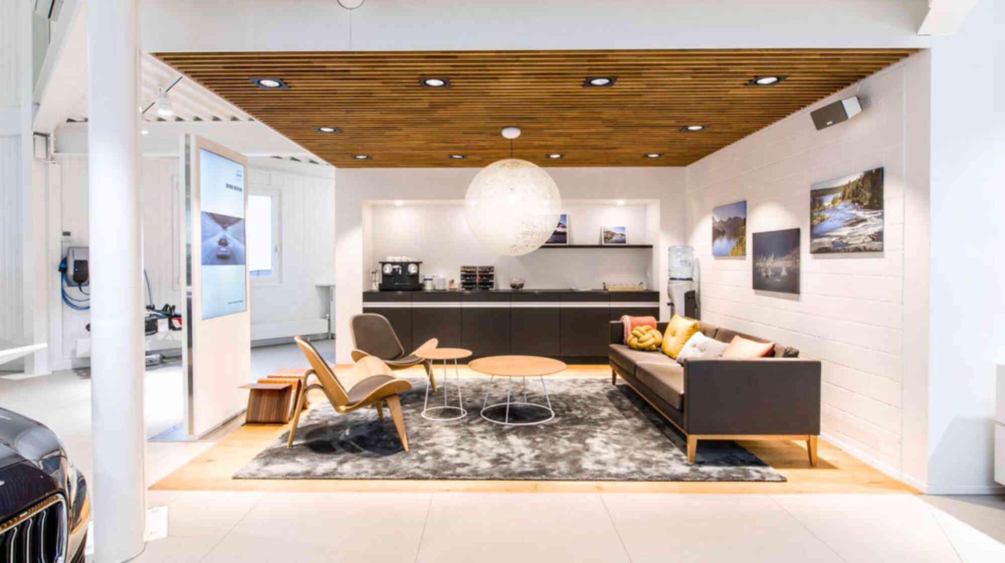 Central-Garage Wälty: Showroom